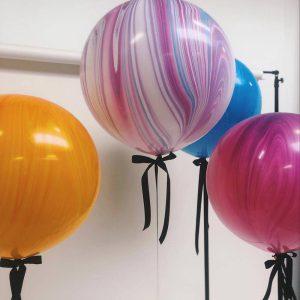 Alle mønstrede balloner