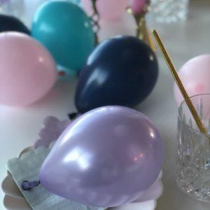 Små latexballoner